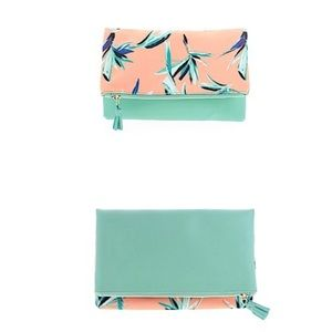NWOT Rachel Pally Reversible Clutch